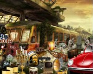 Scary train station hidden object online